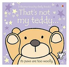 Książki po angielsku dla dzieci - That's not my Teddy
