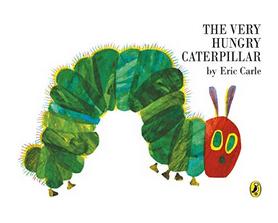 Książki dla dzieci w języku angielskim - The Very Hungry Caterpillar