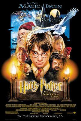 Filmy po angielsku - plakat filmu Harry Potter
