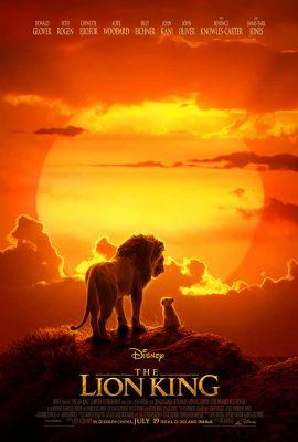 Filmy po angielsku - plakat filmu Król Lew
