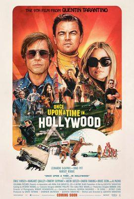 Filmy po angielsku - plakat filmu Pewnego razu w... Hollywood
