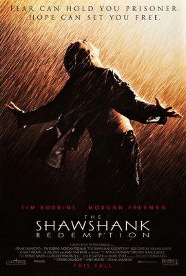 Filmy po angielsku - plakat filmu Skazani na Shawshank