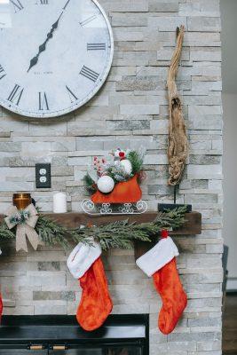 Mikołajki - zwyczaje, skarpety świąteczne
