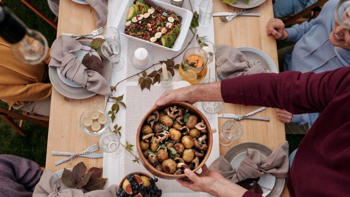 Święto dziękczynienia - uroczysta kolacja
