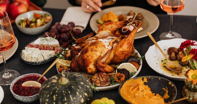 Pieczony indyk - roast turkey